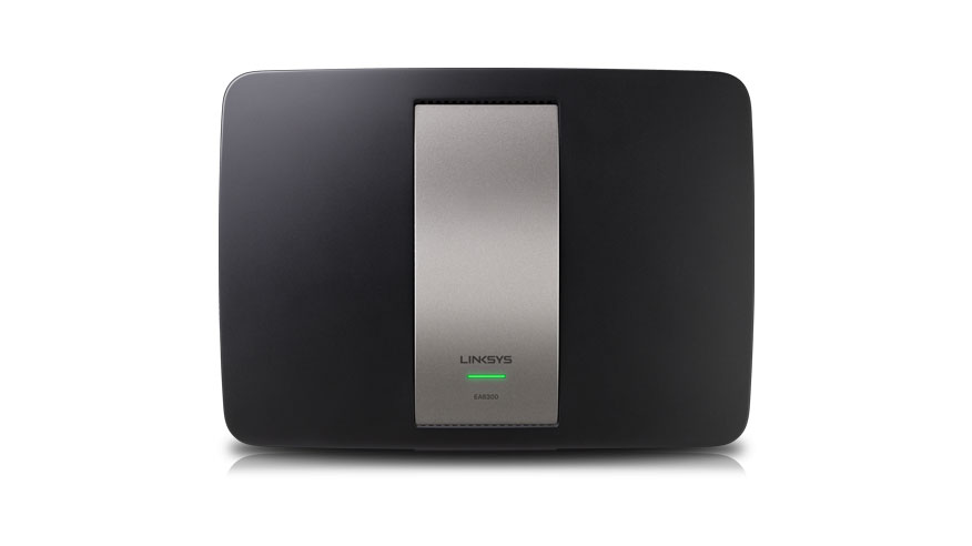 Linksys EA6300 - view from the top